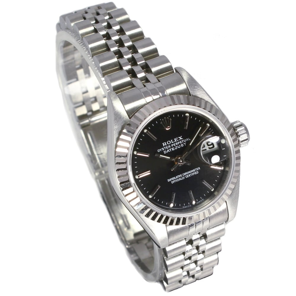 Sold Ladies Rolex Oyster Perpetual Datejust 79174 Ref 30