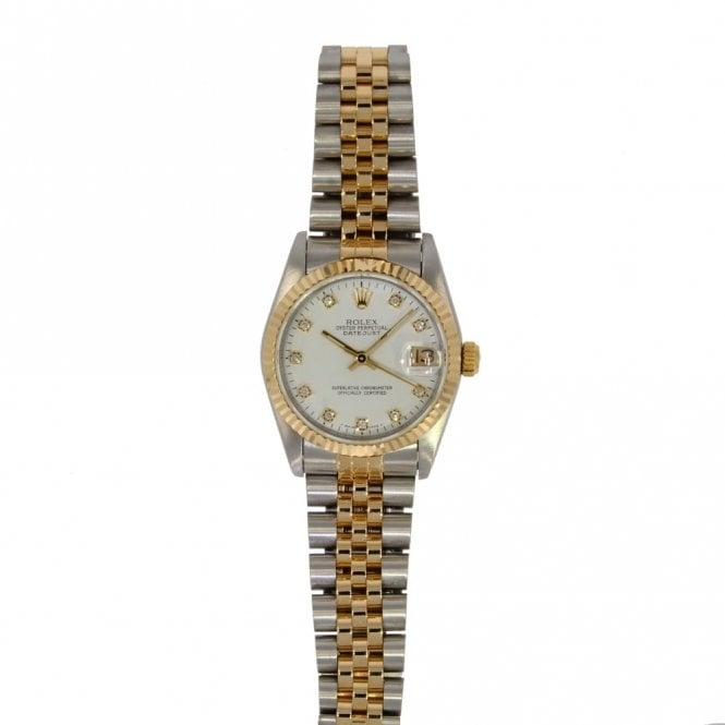 Sold Ladies Rolex Oyster Perpetual Datejust Midi 68273