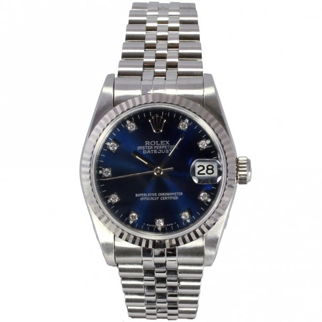 Sold Ladies Rolex Oyster Perpetual Datejust Midi Size 68274