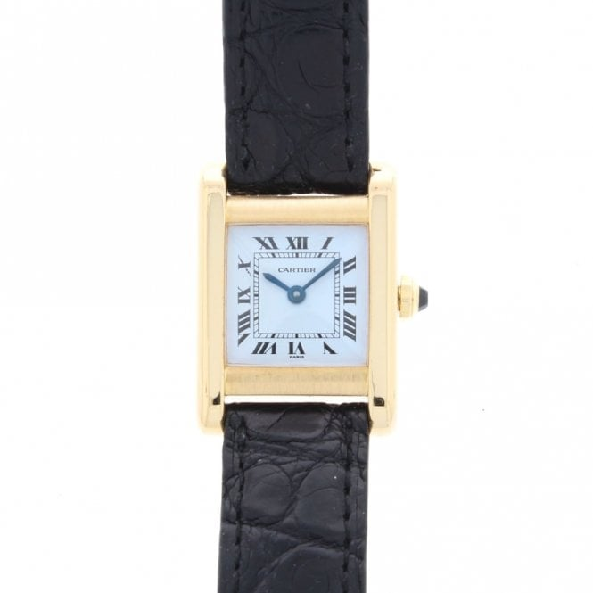 Sold Vintage Cartier Ladies Tank Louis 780932176 (ref. 04.10.2018 OESS.SS)