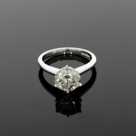 2.70ct Diamond 18ct White Gold