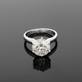 3.19ct Diamond 18ct White Gold