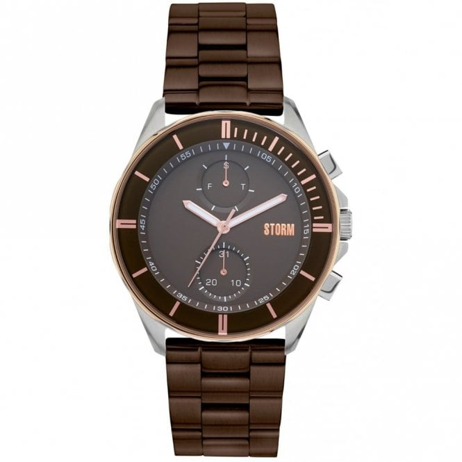 Storm Gents Rexford Metal Brown 47355/BR