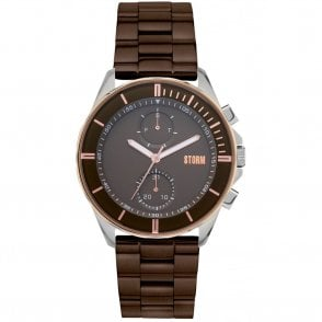 Gents Rexford Metal Brown 47355/BR