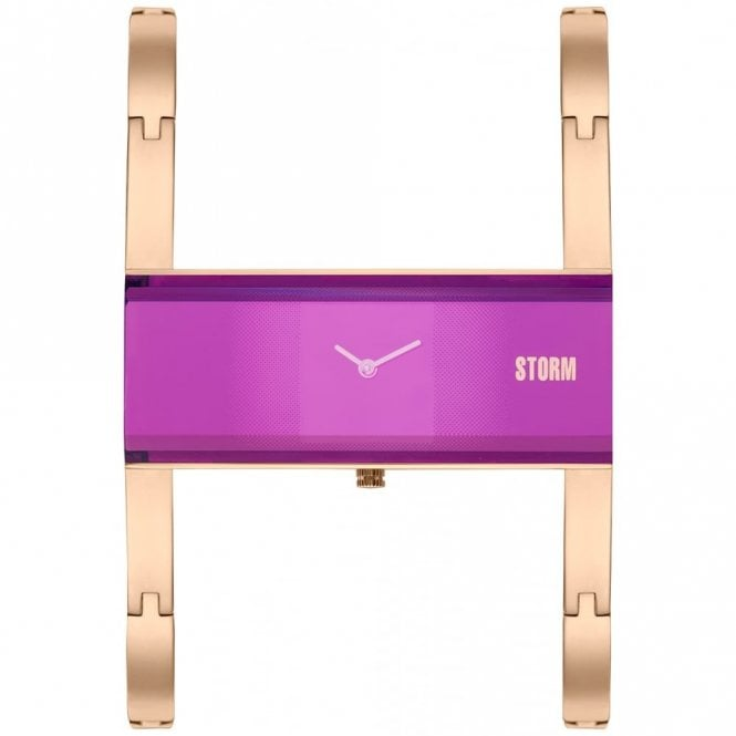 Storm Ladies Akiko Rose Gold Purple 47289/P