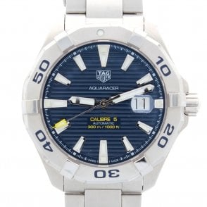 Gents Aquaracer Calibre 5 Way 2012