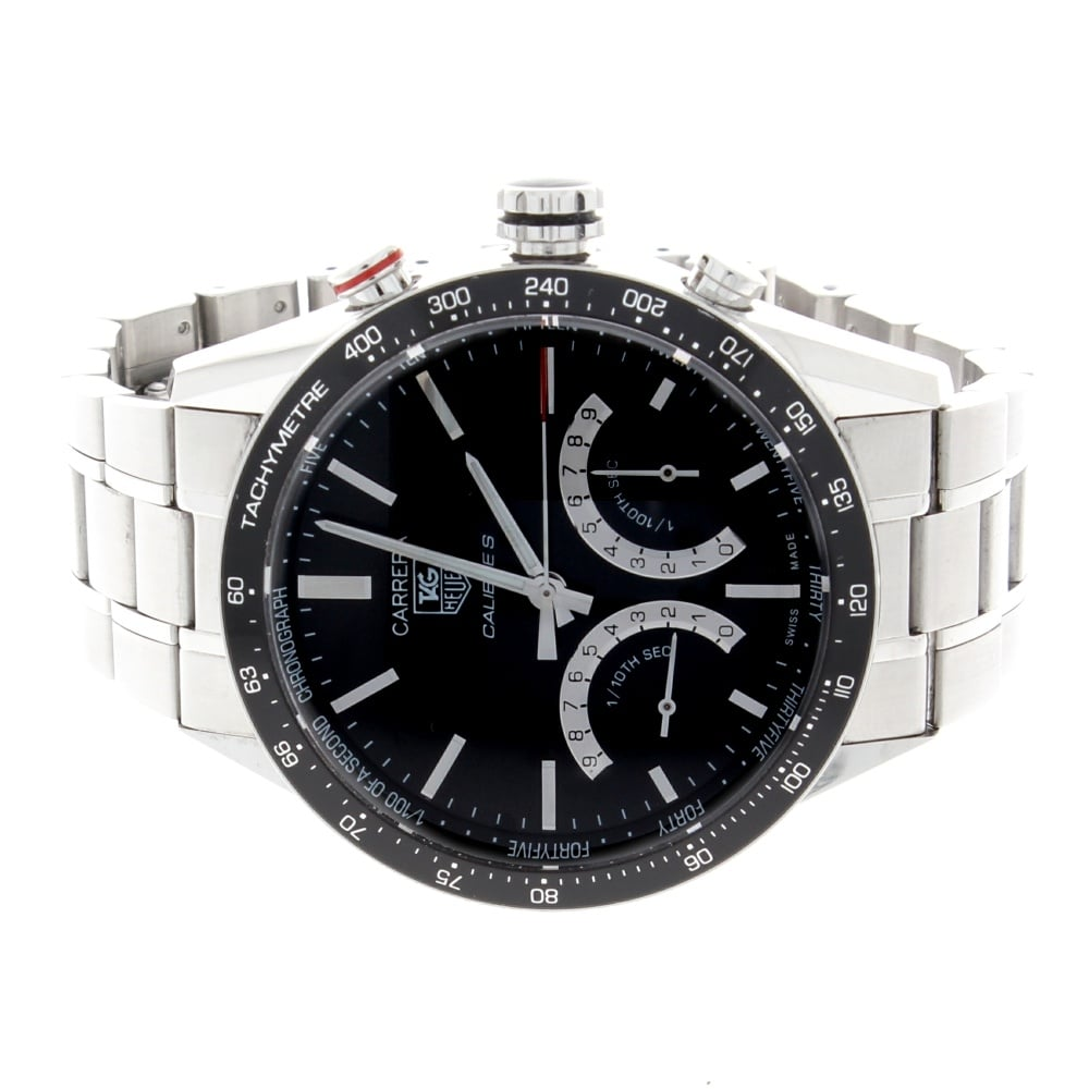 Tag heuer gents carrera calibre s cv7a12 tag heuer from griffin jewellers uk for Tag heuer c flex
