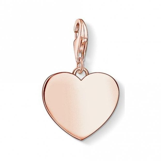 Thomas Sabo Rose Gold Plated Heart Charm