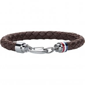 Cord Leather Bracelet Brown (2700530)