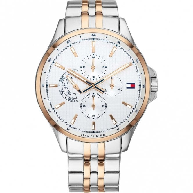 Tommy Hilfiger Gents Shawn Gold & Steel (1791617)