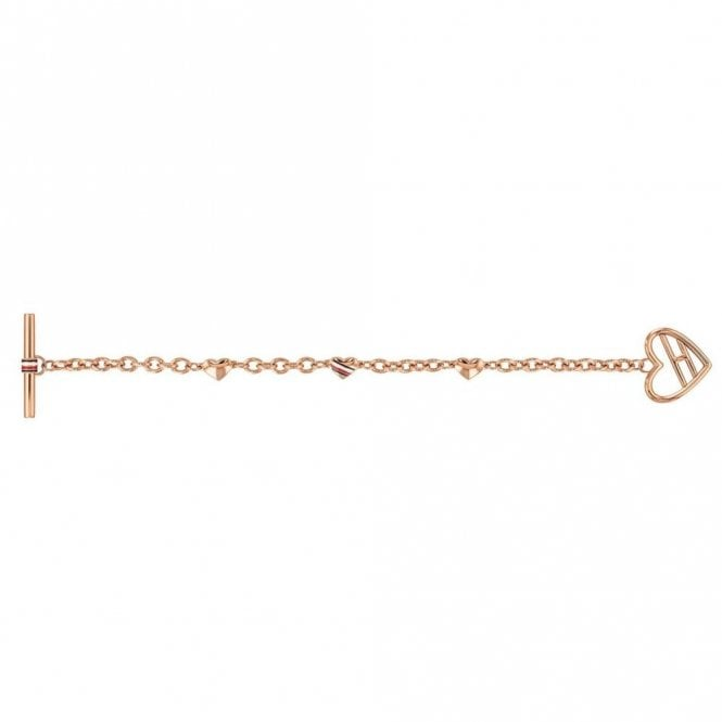 Tommy Hilfiger Heart Toggle Bracelet Gold (2780113)