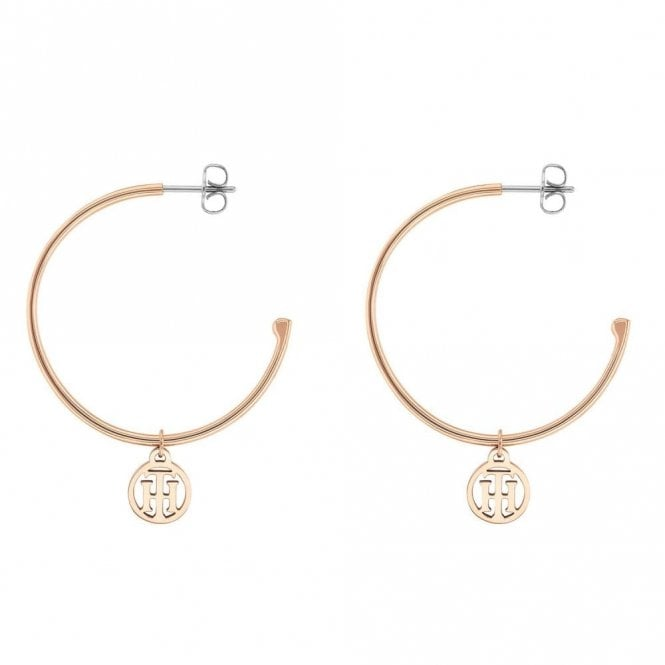 Tommy Hilfiger Hoop Earrings Gold (2780024)