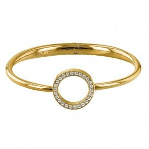 Open Circle Bangle Gold (2780065)