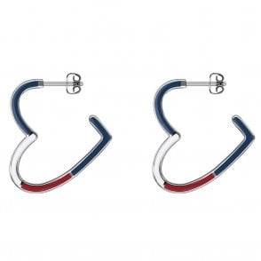 Open Heart Hoop Earrings (2780108)