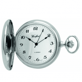 Chrome Full Hunter Pocket Watch 1027